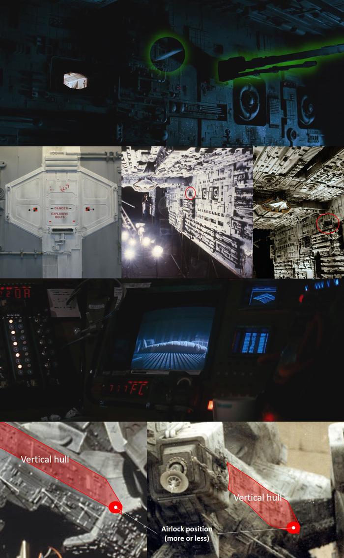 """Реставрация модели USCSS """"Ностромо"""" из фильма Ридли Скотта """"Чужой"""" 1979г. (ЧАСТЬ 2) Чужой, Ридли Скотт, Ностромо, Nostromo, Моделизм, Стендовый моделизм, Реставрация, Гифка, Длиннопост"""