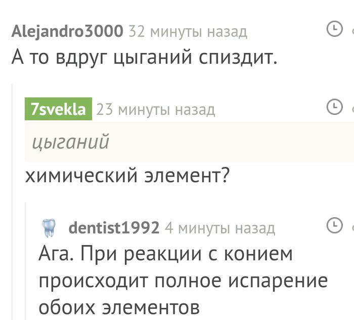 Цыганий Комментарии на пикабу, Скриншот, Цыгане, Лошадь
