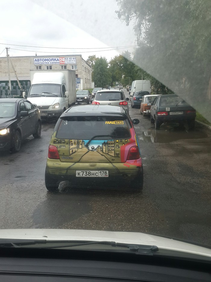 FakeTaxi Fake Taxi, Такси, Псков, Фотография