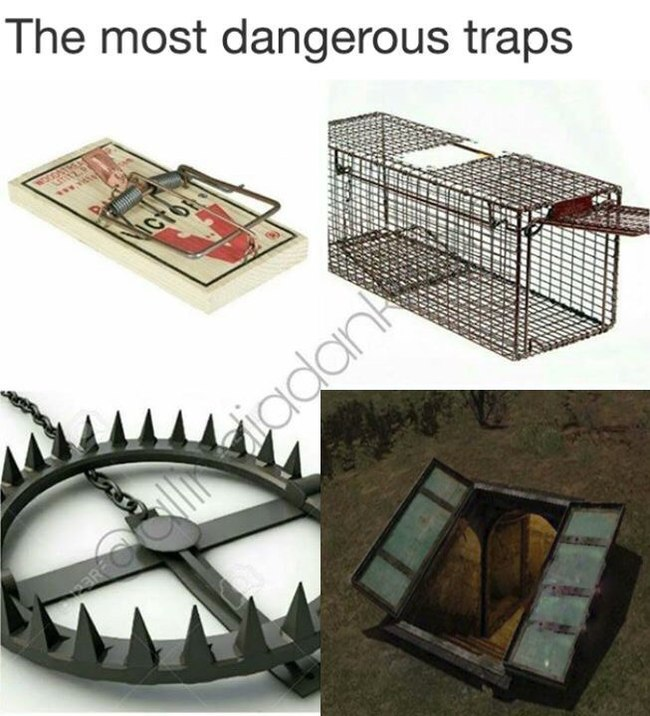 Самые опасные ловушки