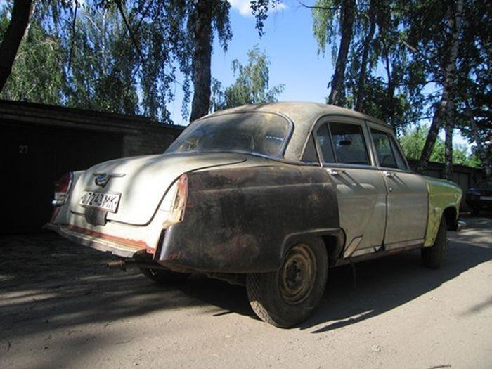 Вторая жизнь автомобиля ГАЗ-21 ГАЗ-21, реставрация, восстановление, своими руками, длиннопост, ремонт авто, авто