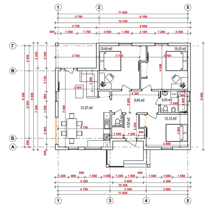 План дома. строительство дома, планировка, длиннопост