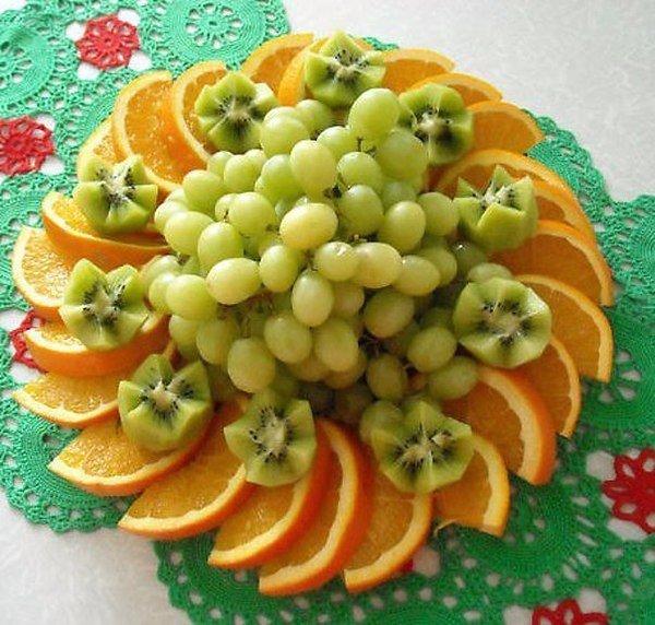 стол нарезки фото на фруктовые