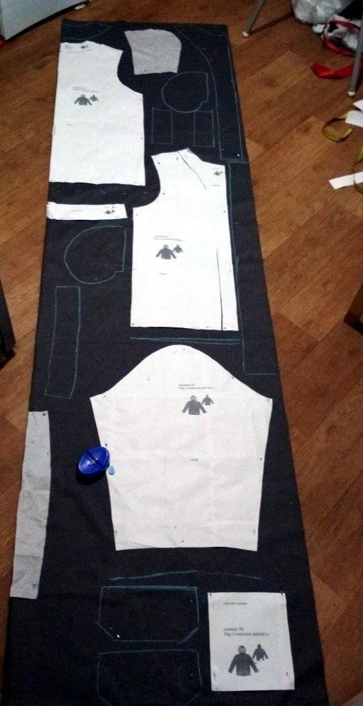 Пошив мужской куртки. пошив куртки, рукоделие с процессом, лига рукодельников, своими руками, длиннопост