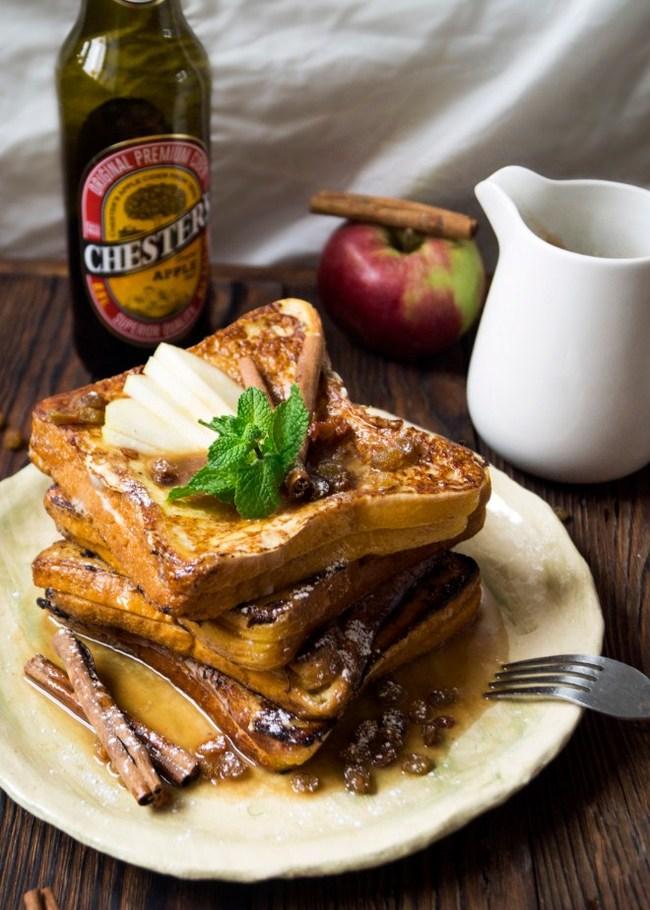 Французские тосты с яблочным сидром Еда, Рецепт, Завтрак, Тост, Сладкоежки, Алкоголь, Длиннопост