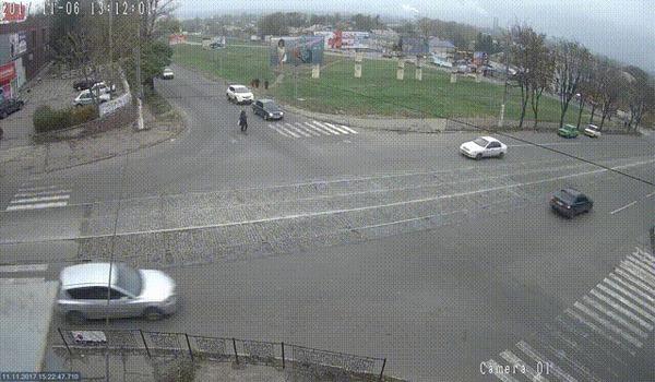 Разогнал ДТП, Каменское, Разогнал, Буксировка, Гифка, Видео