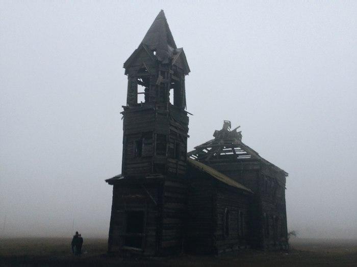 Церковь Михаила Архангела Саратовская область, Церковь, Осень, Длиннопост