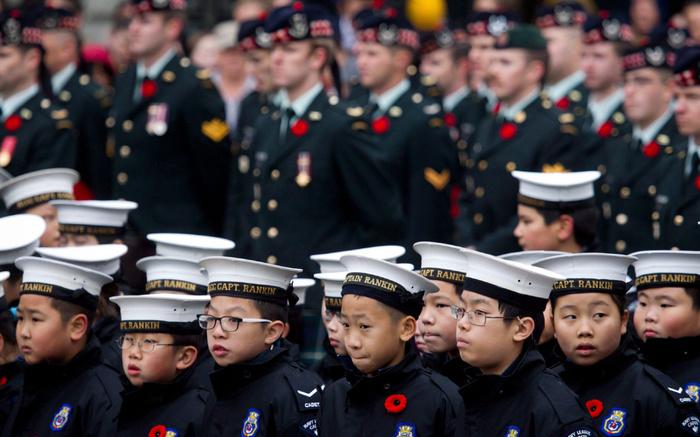 Канадские Кадеты Иммиграция, Канада, Ванкувер, Фотография