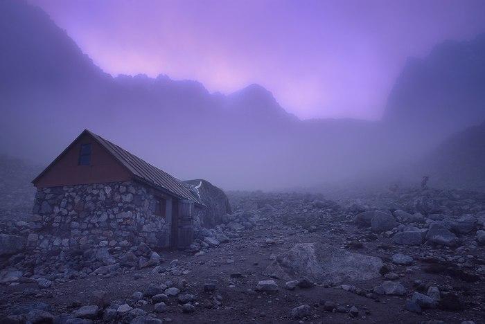 Домик в горах, Безенгиевское ущелье, Кабардино-Балкария.
