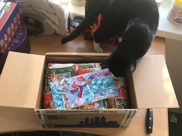 Подарок из Краснодара Обмен подарками, Новый Год, Рождество, Подарок, Тайный Санта, Длиннопост