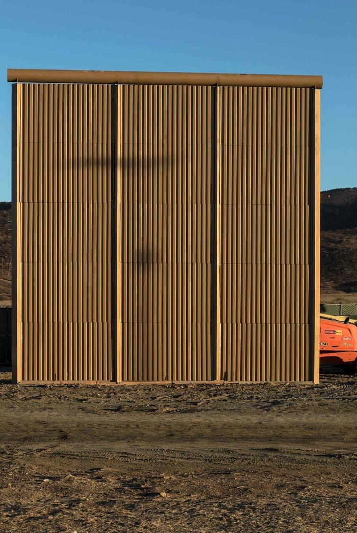 Стена между США и Мексикой - Прототипы США, Мексика, Фотография, Граница, Миграция, Интересное, Америка, Длиннопост