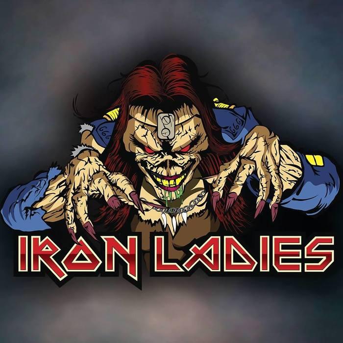Железные дамы Iron Maiden, Iron ladies, Heavy, Трибьют, Cover, Видео, Длиннопост