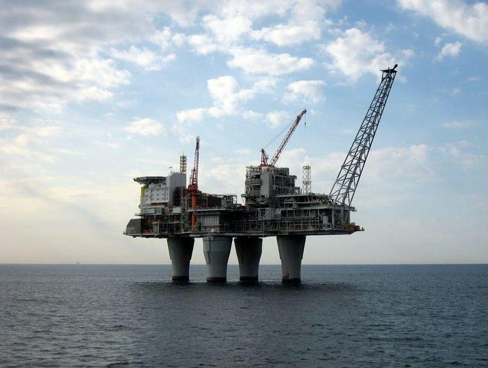 Платформы Платформа, Нефть, Северное море, Видео, Длиннопост