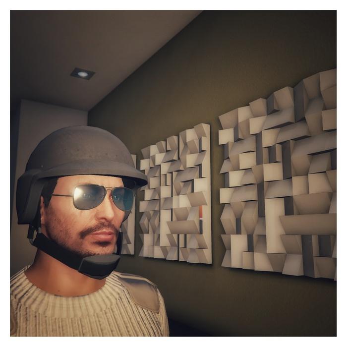 Как я инсталляцию из GTA5 себе домой сделал Gta 5, Инсталляция, Дизайн, Творчество, Своими руками, Papercraft, Длиннопост