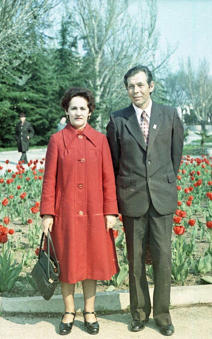 Простые жители нашей страны. цветная фотография, Феодосия, старое фото, длиннопост