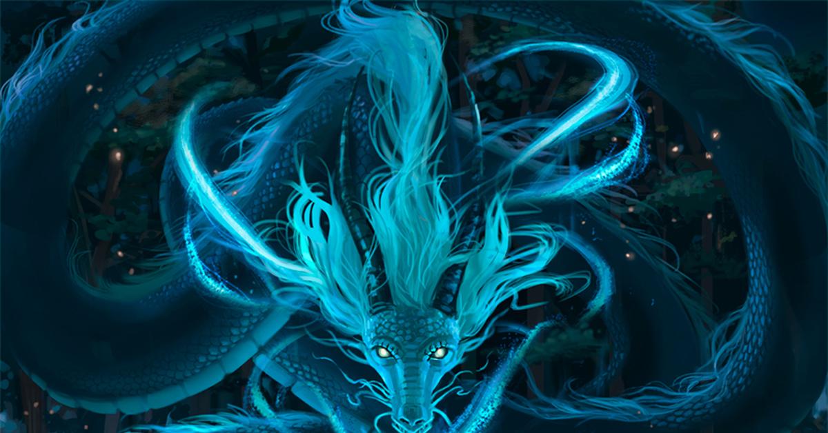 картинки с призрачными драконами речь, конечно