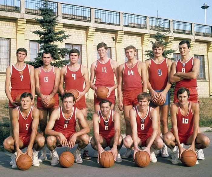 374748b1 Сборная СССР по баскетболу, СССР, 1972 год. Как сложилась судьба некоторых  игроков. (Многобукв)