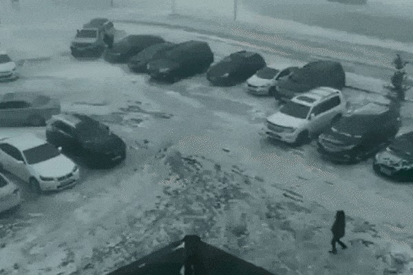 Успеть добежать до машины