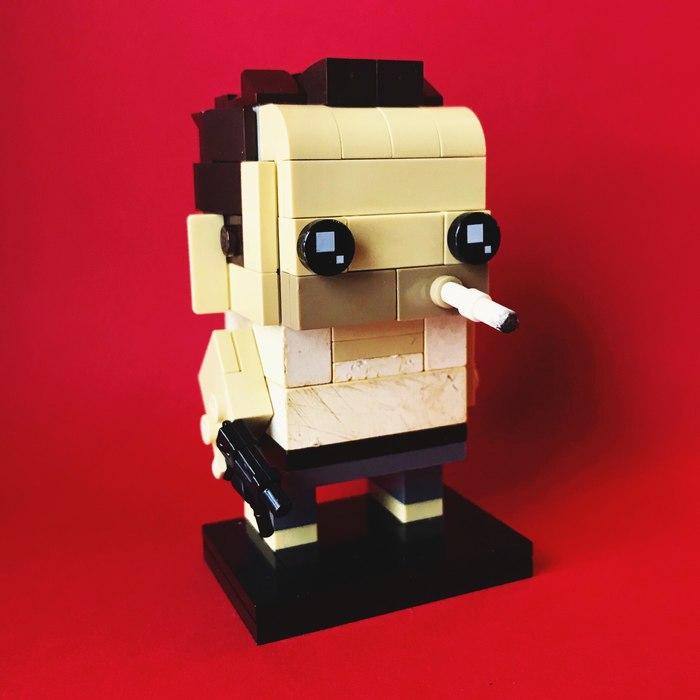 Джон МакКлейн в стиле BrickHeadz Lego, Brickheadz, Крепкий орешек, Джон Макклейн