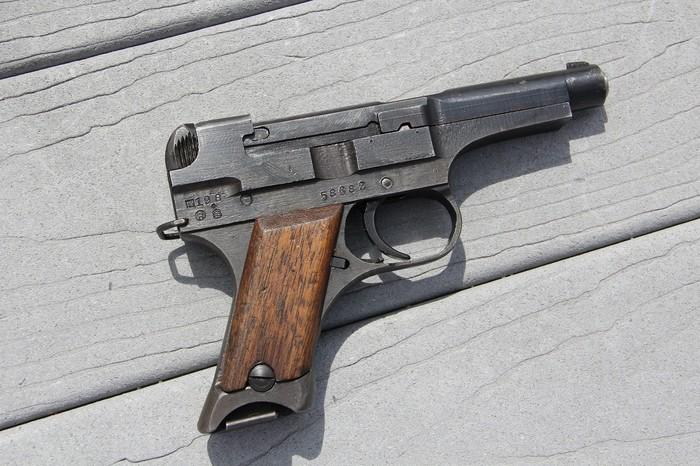 Самый плохой пистолет в мире Огнестрельное оружие, Пистолеты, Огнестрел, Шушпанцер, Кривые руки, Длиннопост