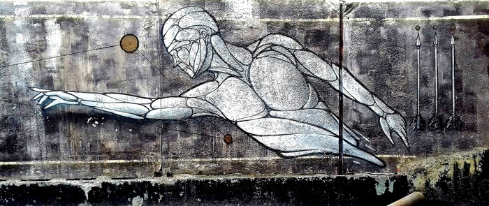Граффити (так же как и стрит-арт) должны украшать стены, а не уродовать их. №42 Уличная живопись, Стрит-Арт, Граффити, Екатеринбург, Стрелы