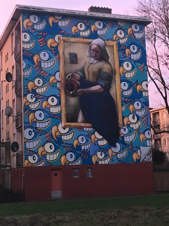 Стрит арт Амстердам