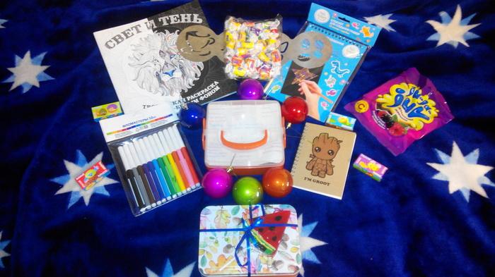 Подарок от альтруиста) Тайный Санта, Подарок, Обмен подарками, Шалфей, Толик, Вера в чудо, Длиннопост