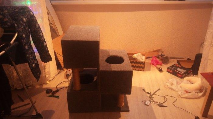 Кошкин дом 2.0 кошкин дом, длиннопост, своими руками, кот