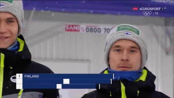 Финская сборная по прыжкам на лыжах с трамплина