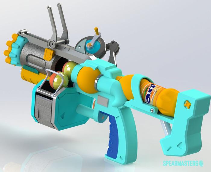 Beachrat Junkrat Overwatch, Junkrat, Крысавчик, 3d печать, 3D modding, Spearmasters, Длиннопост