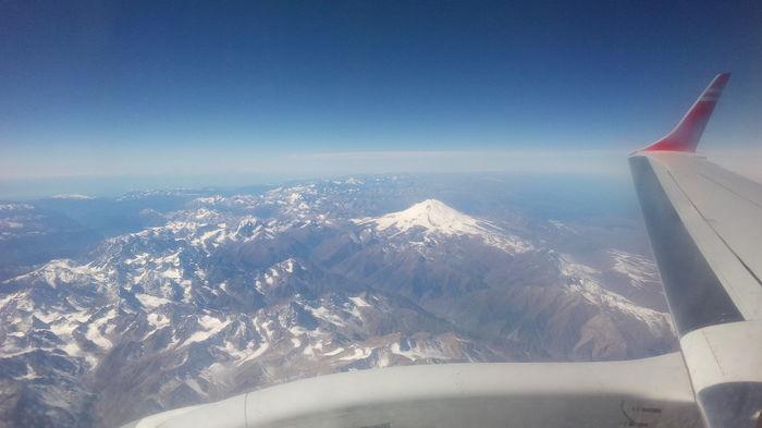Если летите из Москвы в Тбилиси, берите места на правой стороне Вид из самолёта, Эльбрус, Совет, Горы, Кавказский хребет