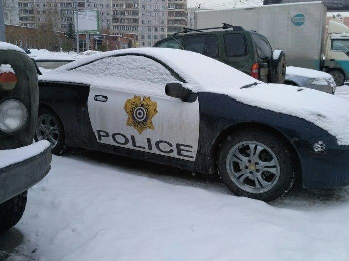 Полиция Калифорнии в Новосибирске