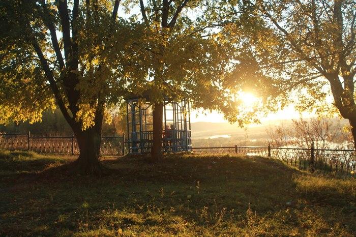 Закат в Павлове