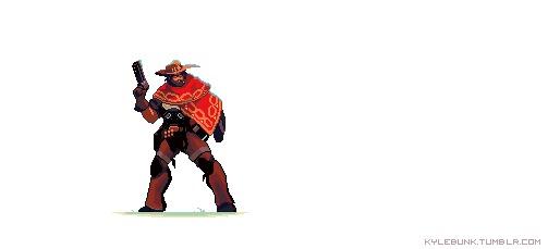 Анимация от KYLE BUNK Overwatch, Анимация, Гифка, Длиннопост