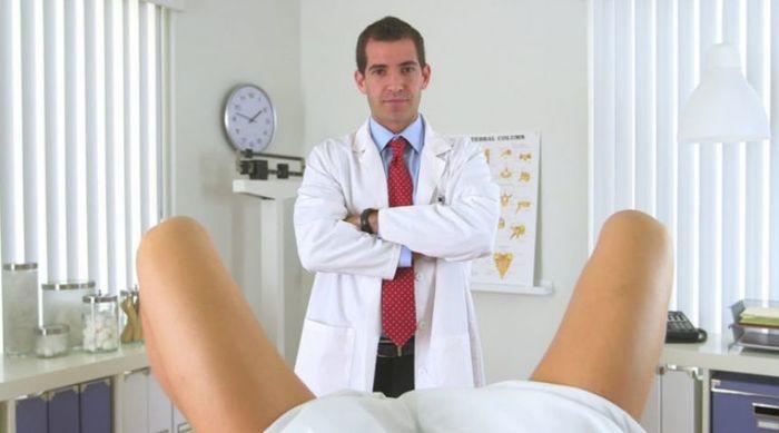 Жена смужем на приеме у гинеколога