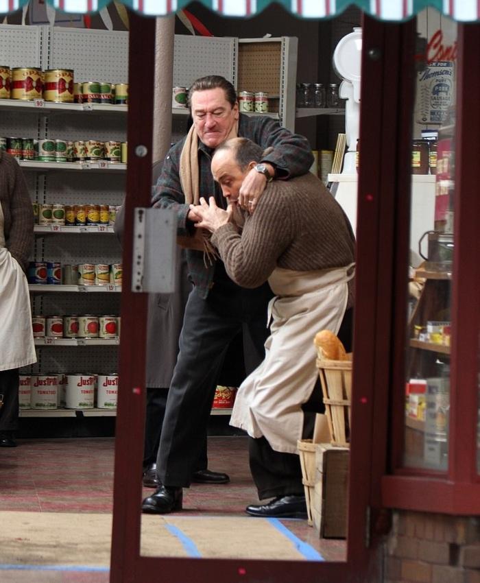 Старый мафиози снова в деле Роберт Де Ниро, Мартин Скорсезе, Актеры, Фильмы, Длиннопост