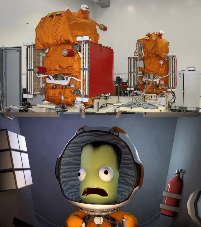 Когда нервничают Канопусы Парейдолия, Космонавтика, Kerbal Space Program
