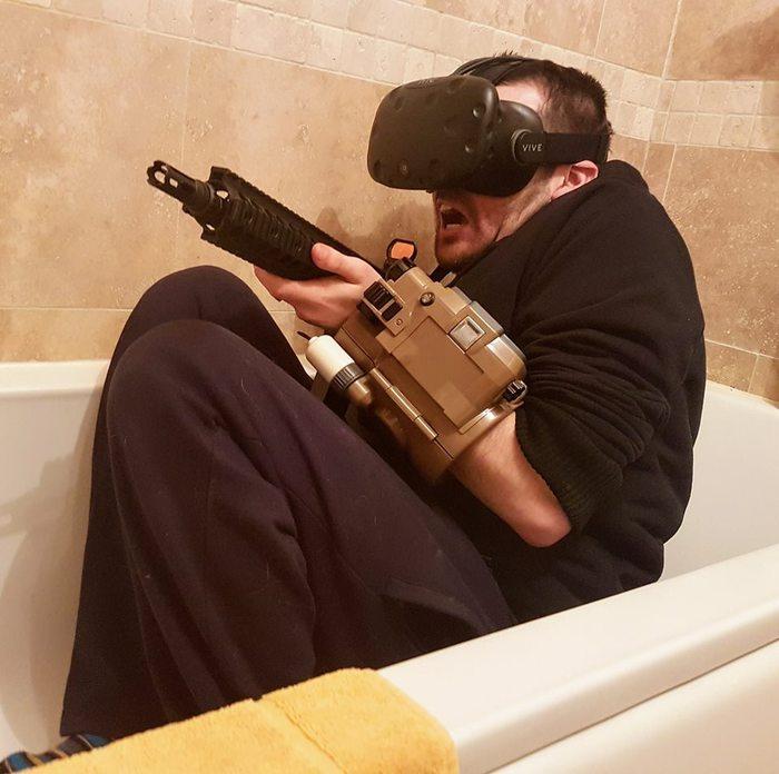 Fallout 4 + VR + Выживание + Мод на темноту