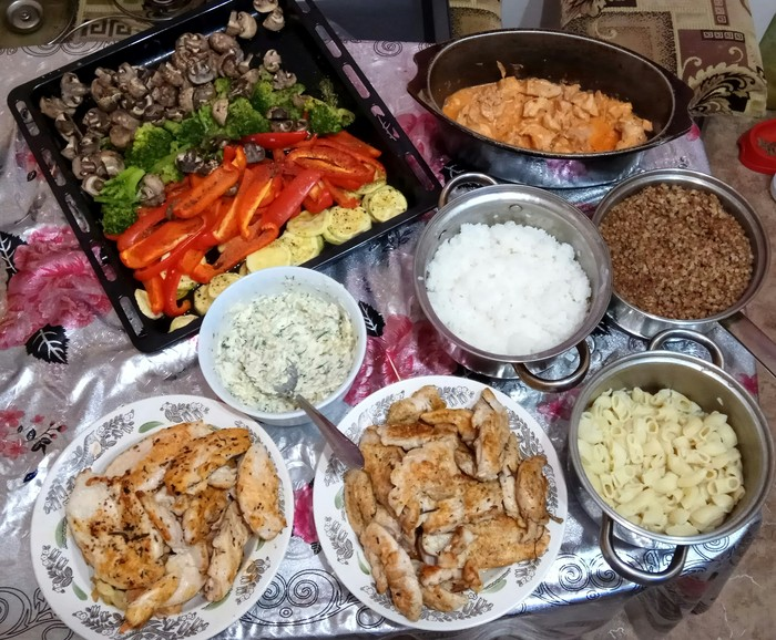 Заготовка еды на неделю Еда, Кулинария, Лайфхак, Длиннопост