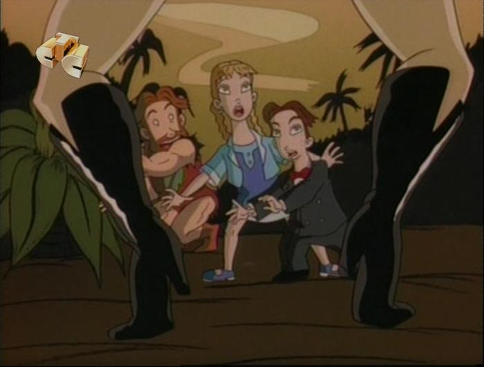 Когда пересматриваешь мультфильмы детства