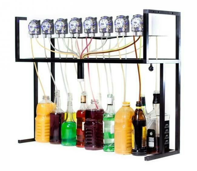 Bartendro - робот-бармен на Raspberry Pi и Arduino Arduino, Алкоголь, Коктейль, Raspberry Pi