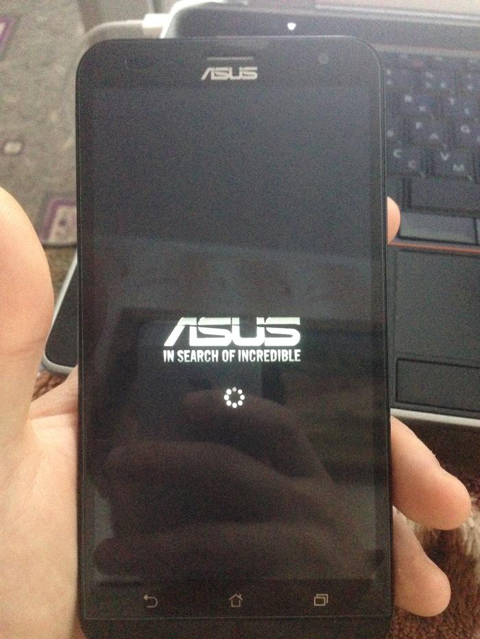 ASUS Zenfone 2 Deluxe. Проблема с загрузкой Asus, Телефон, Проблема
