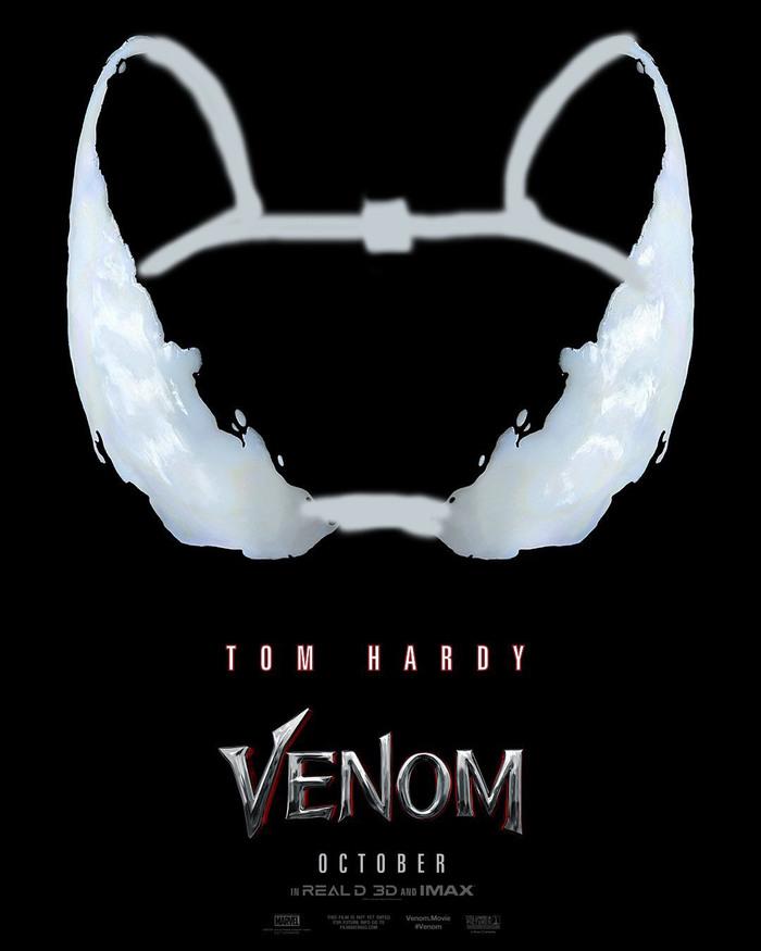 Многозначный постер Кто про что, Веном, Marvel, Я художник - я так вижу, Длиннопост