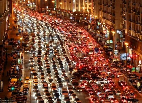 Пробки в России (Москва и не только) Пробки, Россия, Не политика, Бюджет