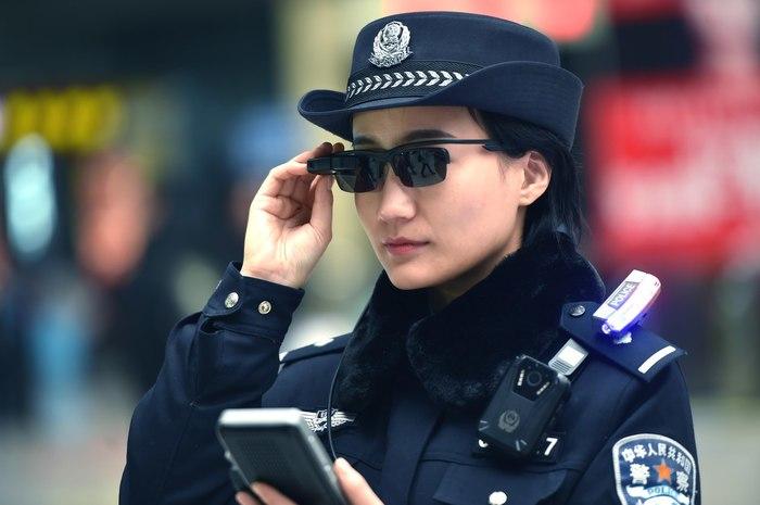 Китайский киберпанк Китай, Полиция, Технологии будущего, Новости, Очки