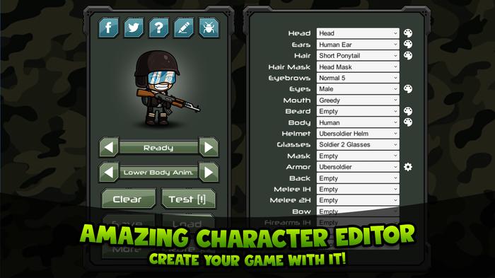Редактор персонажей для Unity (Asset Store) Unity, Asset store, Редактор персонажей