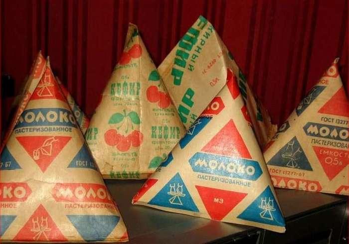 Молоко в пирамиде Молоко, СССР, Пирамида, Треугольник, Длиннопост