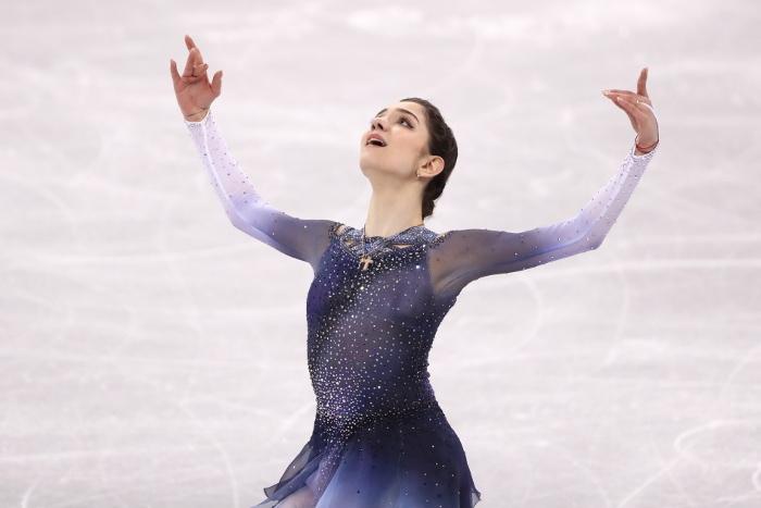 Медведева выиграла короткую программу командного турнира с рекордом мира Общество, Спорт, Олимпиада 2018, Пхенчхан, Победа, Евгения Медведева, Фигурное катание, Интерфакс