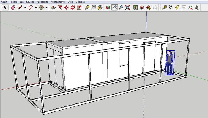 Я очень советую освоить простой 3D редактор SketchUp уже этой зимой. Кому это может понадобится? SketchUp, 3d в строительстве, Творчество, Дача, Частный дом, Рукоделие, Обучение, Длиннопост