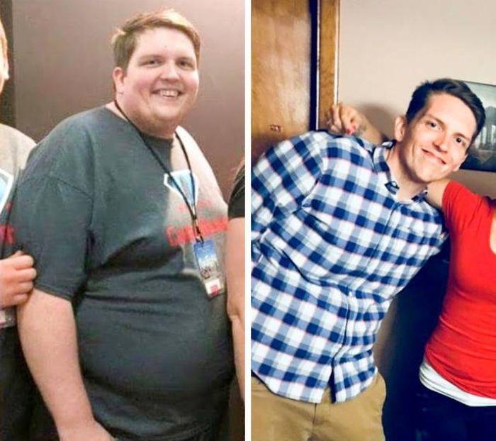 Результат работы над собой до и после, видоизменили, жизнь, спорт, ЗОЖ, потеря веса, работа над собой, длиннопост
